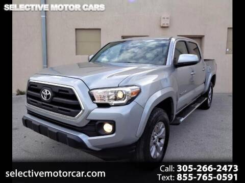2017 Toyota Tacoma for sale at Selective Motor Cars in Miami FL