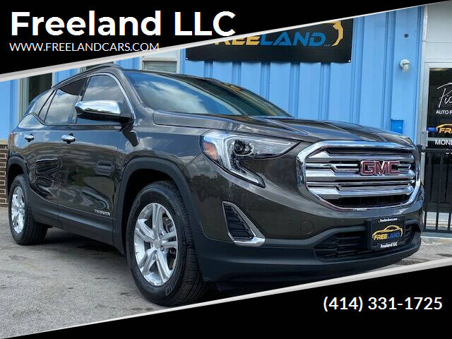 2019 GMC Terrain for sale at Freeland LLC in Waukesha WI