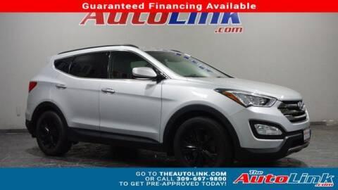 2014 Hyundai Santa Fe Sport for sale at The Auto Link Inc. in Bartonville IL