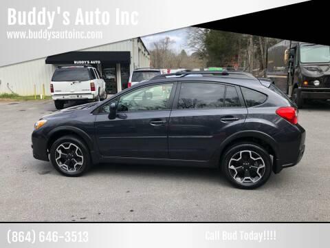 2014 Subaru XV Crosstrek for sale at Buddy's Auto Inc in Pendleton, SC