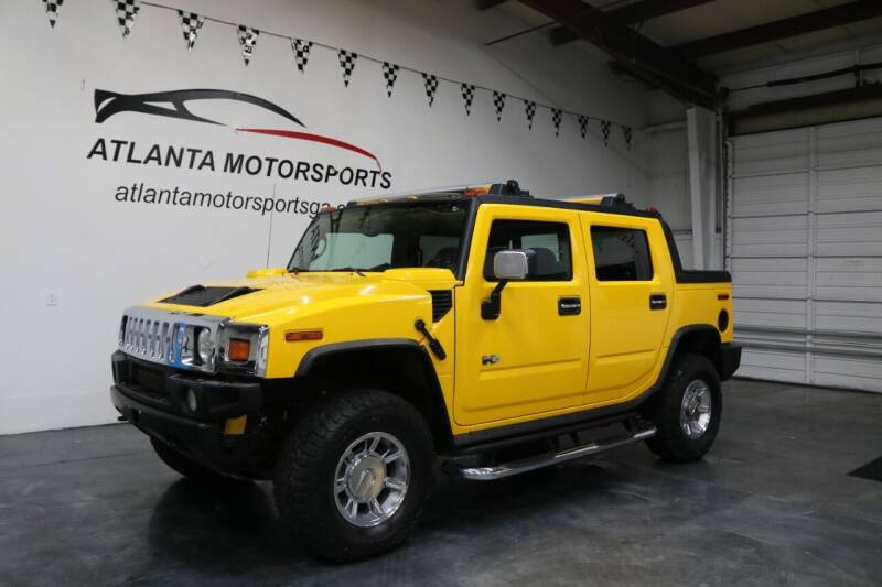 2005 HUMMER H2 SUT for sale at Atlanta Motorsports in Roswell GA