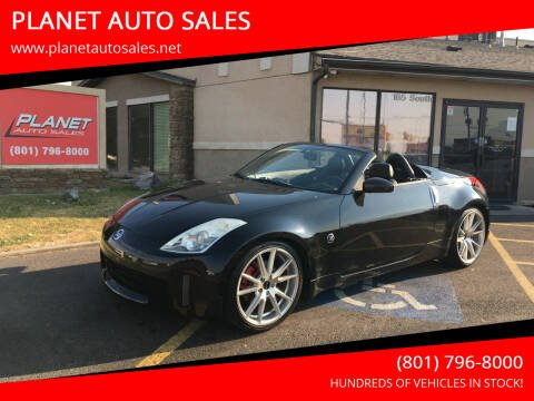 2006 Nissan 350Z for sale at PLANET AUTO SALES in Lindon UT