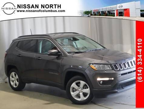 2021 Jeep Compass for sale at Auto Center of Columbus in Columbus OH