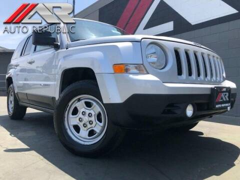 2014 Jeep Patriot for sale at Auto Republic Fullerton in Fullerton CA
