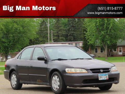 1998 Honda Accord for sale at Big Man Motors in Farmington MN