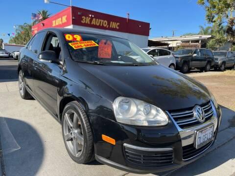 2009 Volkswagen Jetta for sale at 3K Auto in Escondido CA