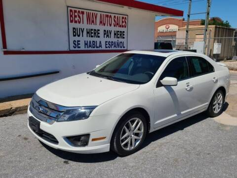 2010 Ford Fusion for sale at Best Way Auto Sales II in Houston TX