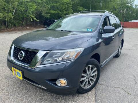 2013 Nissan Pathfinder for sale at Granite Auto Sales in Spofford NH