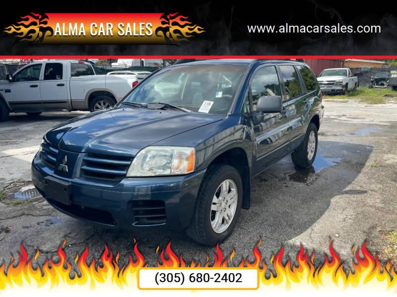 2004 Mitsubishi Endeavor for sale at Alma Car Sales in Miami FL