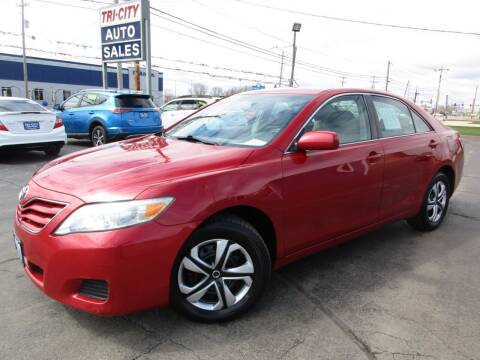 2010 Toyota Camry for sale at TRI CITY AUTO SALES LLC in Menasha WI