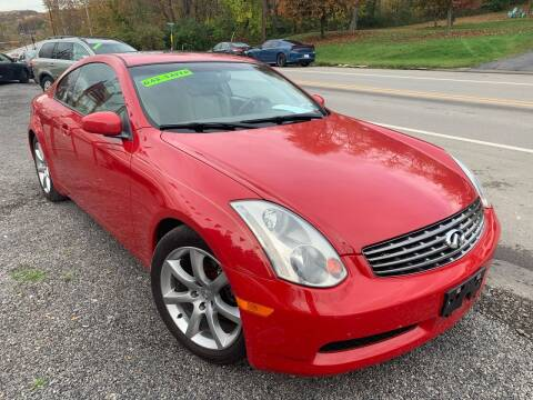 2003 Infiniti G35 for sale at Trocci's Auto Sales in West Pittsburg PA