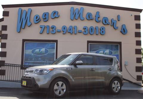 2016 Kia Soul for sale at MEGA MOTORS in South Houston TX