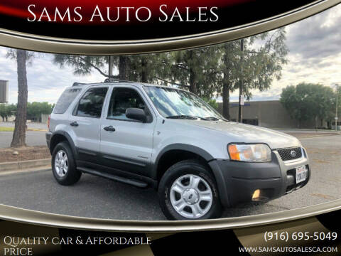 2002 Ford Escape for sale at Sams Auto Sales in North Highlands CA