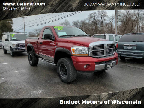 2006 Dodge Ram Pickup 1500 for sale at Budget Motors of Wisconsin in Racine WI