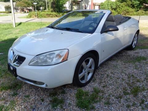 2007 Pontiac G6 for sale at Liberty Motors in Chesapeake VA