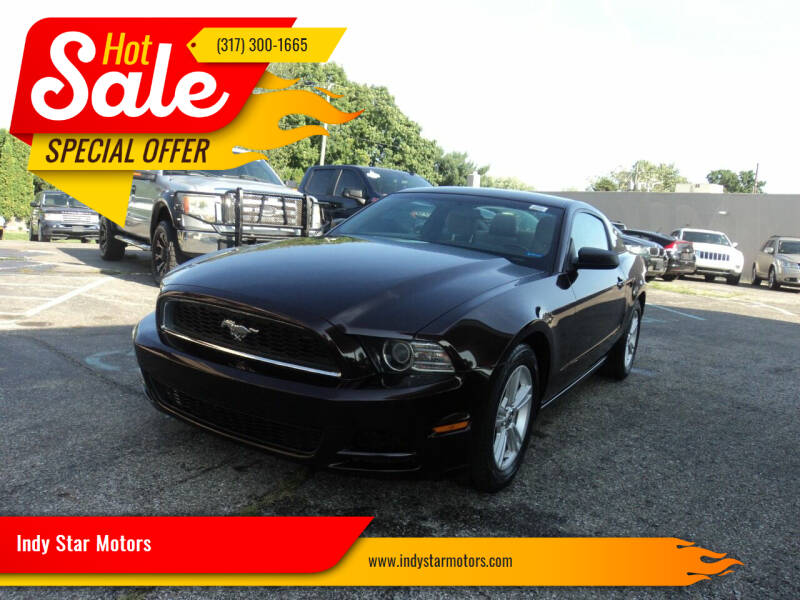 2014 Ford Mustang for sale at Indy Star Motors in Indianapolis IN