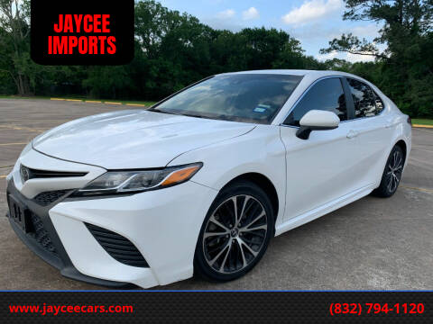 2018 Toyota Camry for sale at JAYCEE IMPORTS in Houston TX