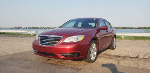 2013 Chrysler 200 for sale at EHE Auto Sales in Marine City MI