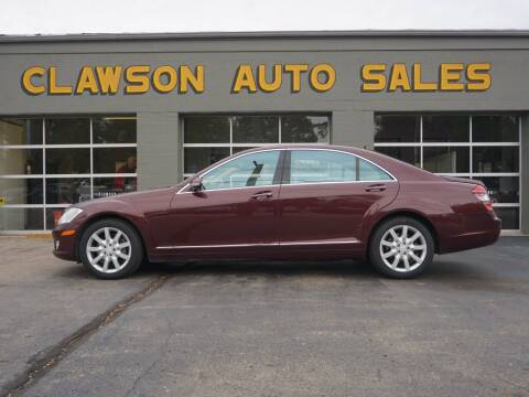 2008 Mercedes-Benz S-Class for sale at Clawson Auto Sales in Clawson MI