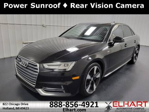 2017 Audi A4 for sale at Elhart Automotive Campus in Holland MI