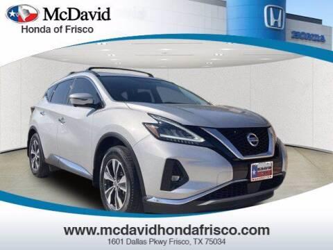 2019 Nissan Murano for sale at DAVID McDAVID HONDA OF IRVING in Irving TX