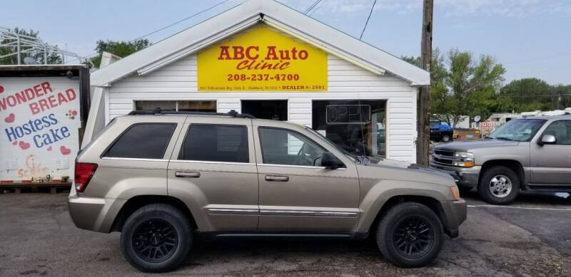2006 Jeep Grand Cherokee for sale at ABC AUTO CLINIC - Chubbuck in Chubbuck ID