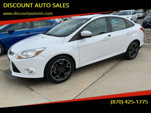 2013 Ford Focus for sale at DISCOUNT AUTO SALES in Mountain Home AR