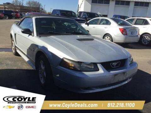 2002 Ford Mustang for sale at COYLE GM - COYLE NISSAN - Coyle Nissan in Clarksville IN