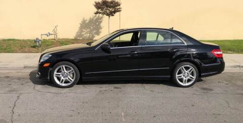 2011 Mercedes-Benz E-Class for sale at HIGH-LINE MOTOR SPORTS in Brea CA