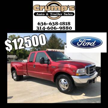 2002 Ford F-350 Super Duty for sale at CRUMP'S AUTO & TRAILER SALES in Crystal City MO
