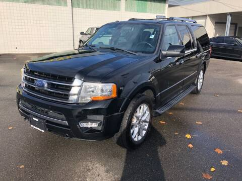 2017 Ford Expedition EL for sale at Vista Auto Sales in Lakewood WA