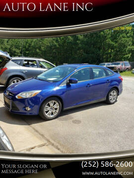 2012 Ford Focus for sale at AUTO LANE INC in Henrico NC