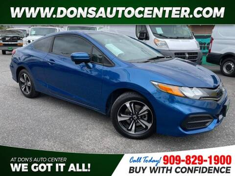 2015 Honda Civic for sale at Dons Auto Center in Fontana CA