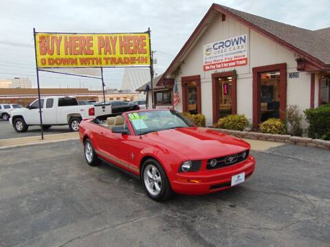 2008 Ford Mustang for sale at Crown Used Cars in Oklahoma City OK