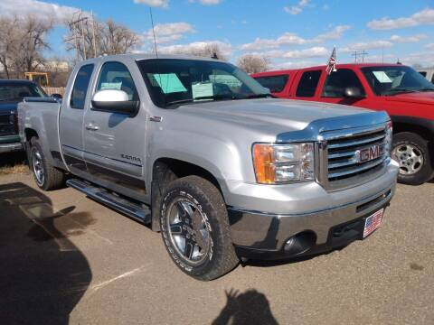 2012 GMC Sierra 1500 for sale at L & J Motors in Mandan ND