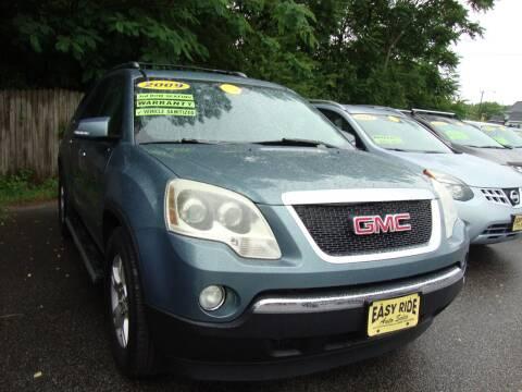 2009 GMC Acadia for sale at Easy Ride Auto Sales Inc in Chester VA