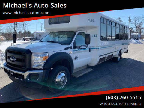 2015 Ford F-550 Super Duty for sale at Michael's Auto Sales in Derry NH