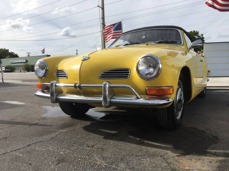 1971 Volkswagen Karmann Ghia for sale at TOP TWO USA INC in Oakland Park FL
