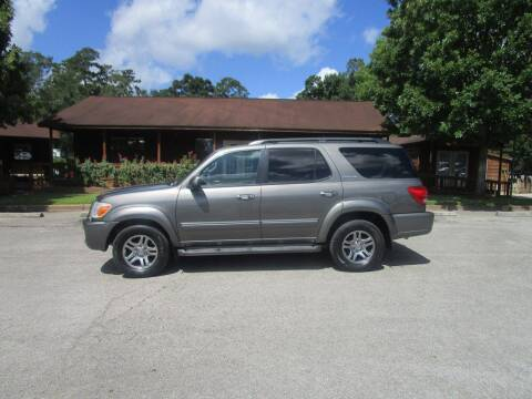 2005 Toyota Sequoia for sale at Victory Motor Company in Conroe TX