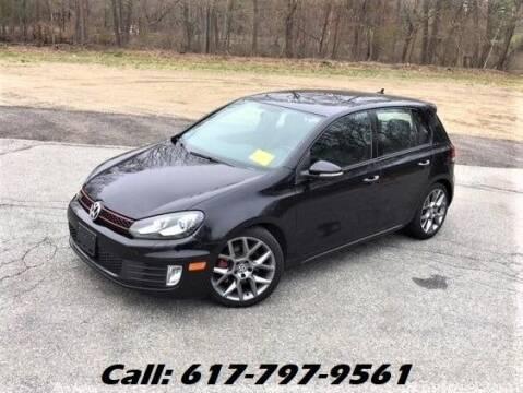 2013 Volkswagen GTI for sale at Wheeler Dealer Inc. in Acton MA