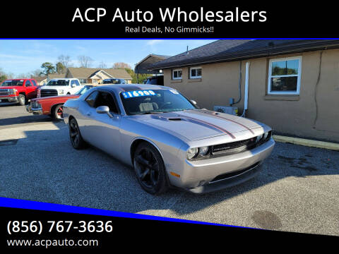 2013 Dodge Challenger for sale at ACP Auto Wholesalers in Berlin NJ