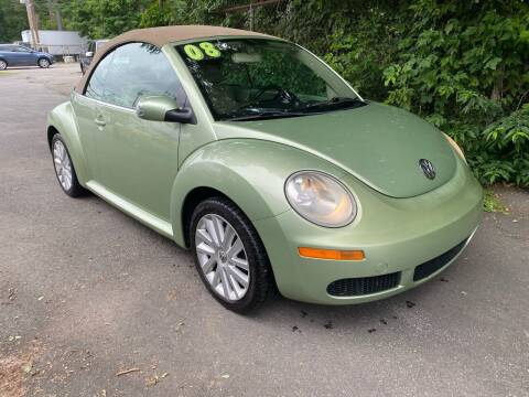 2008 Volkswagen New Beetle Convertible for sale at United Auto Service in Leominster MA