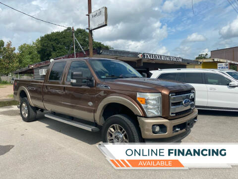 2011 Ford F-350 Super Duty for sale at Texas Luxury Auto in Houston TX