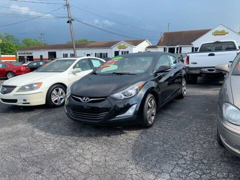 2014 Hyundai Elantra for sale at Credit Connection Auto Sales Dover in Dover PA