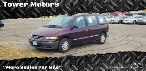1998 Plymouth Voyager for sale at Tower Motors in Brainerd MN