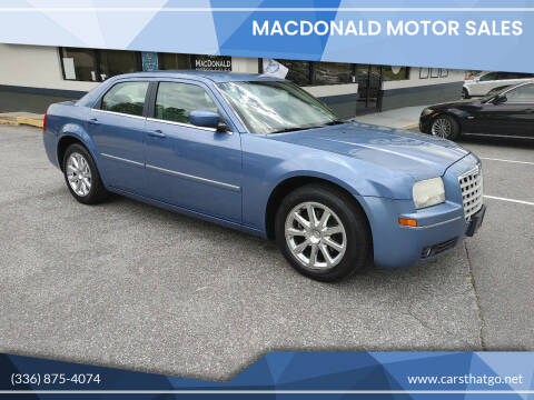 2007 Chrysler 300 for sale at MacDonald Motor Sales in High Point NC