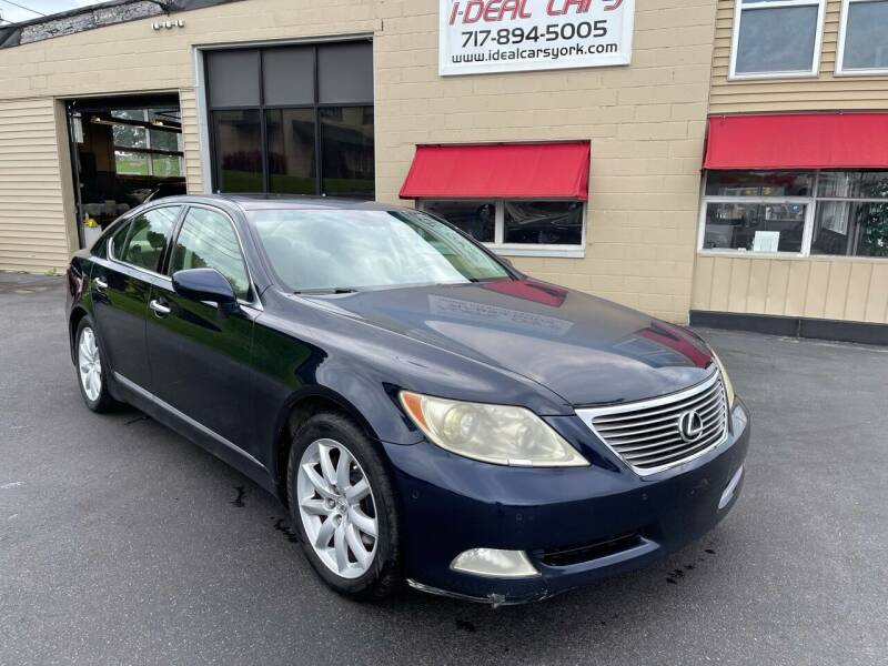 2007 Lexus LS 460 for sale at I-Deal Cars LLC in York PA