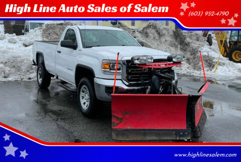 2016 GMC Sierra 2500HD for sale at High Line Auto Sales of Salem in Salem NH