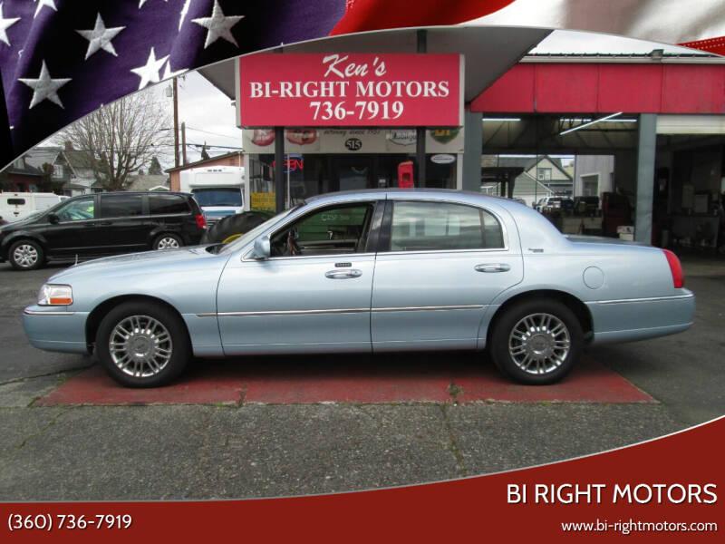 2009 Lincoln Town Car for sale at Bi Right Motors in Centralia WA