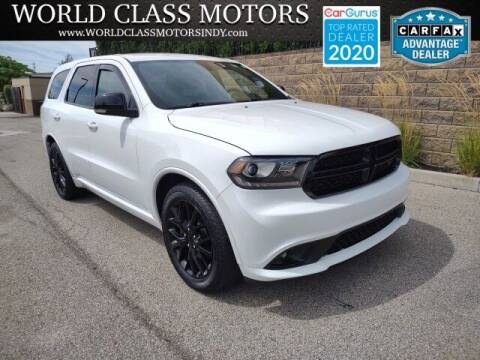 2015 Dodge Durango for sale at World Class Motors LLC in Noblesville IN